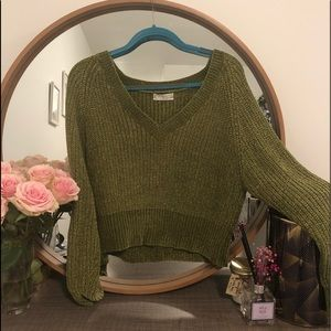 green urban outfitters sweater